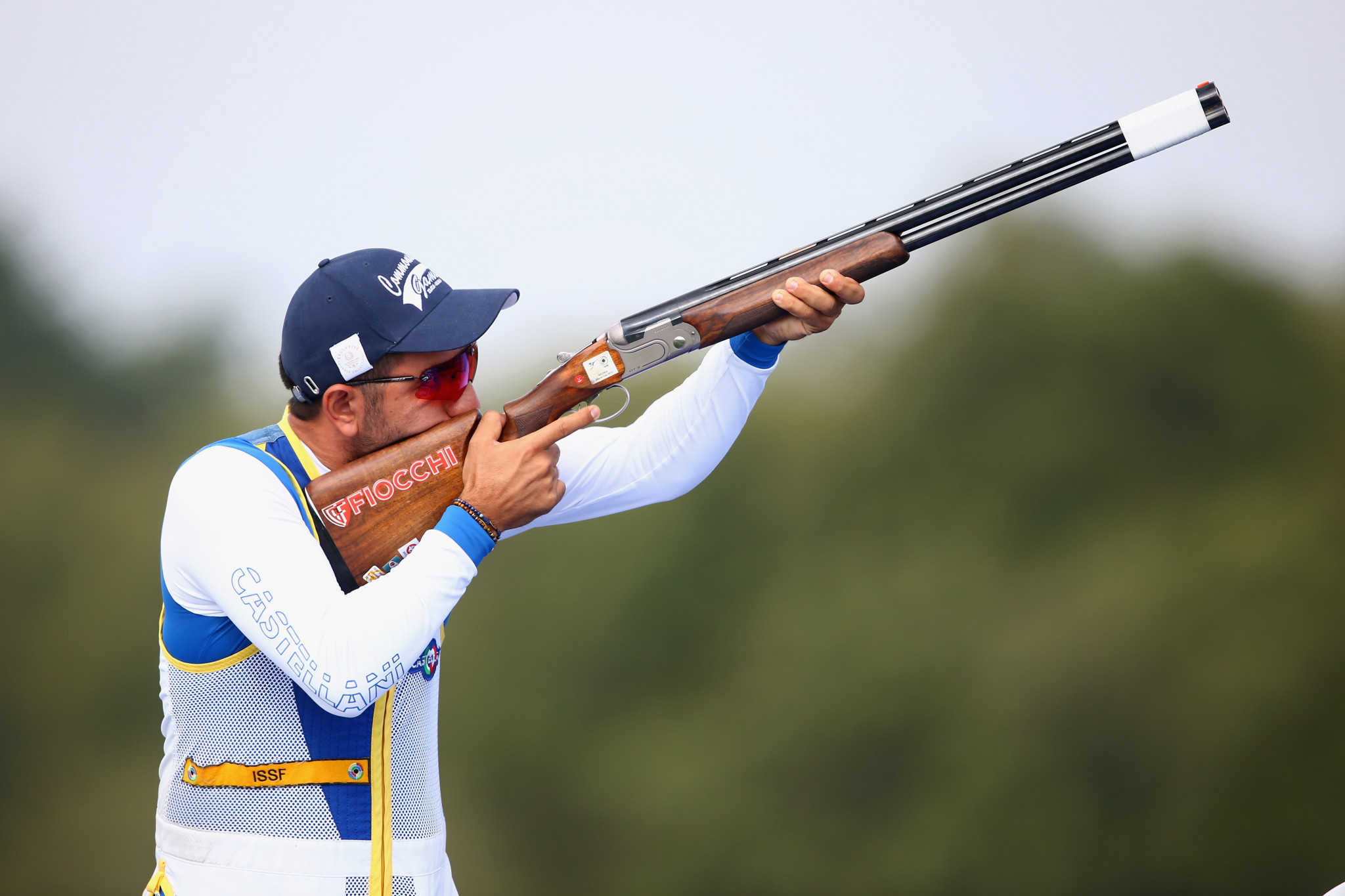 Georgios Achilleos will lead Cyprus' shooting team at Gold Coast 2018 ©Getty Images