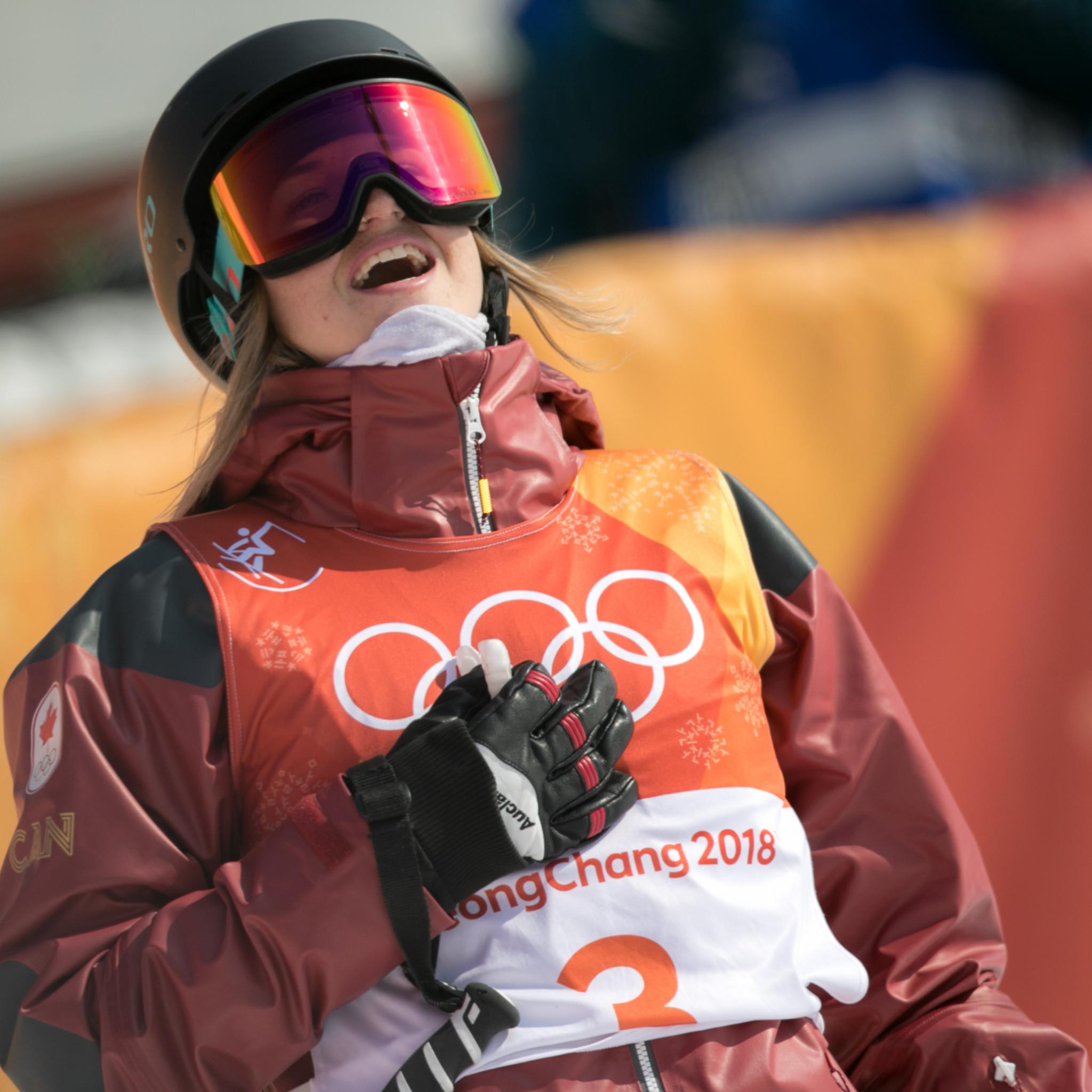 Cassie Sharpe was the best women's qualifier before tomorrow's finals ©Getty Images