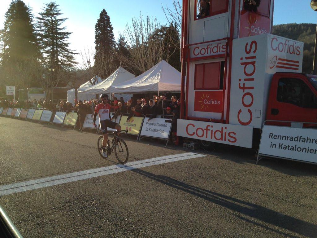 De Gendt assumes Volta Ciclista a Catalunya race lead after solo stage win