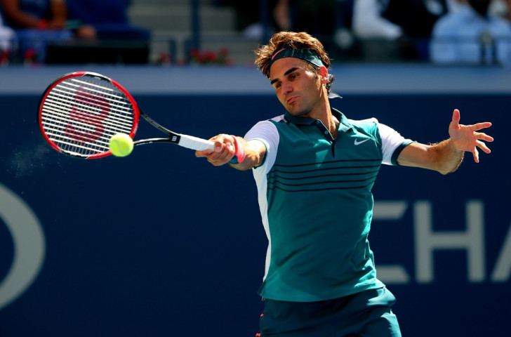 Flawless Federer into US Open fourth round with commanding victory over Kohlschreiber