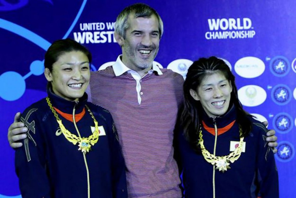 Olympic gold medallists descend on Las Vegas ahead of World Wrestling Championships