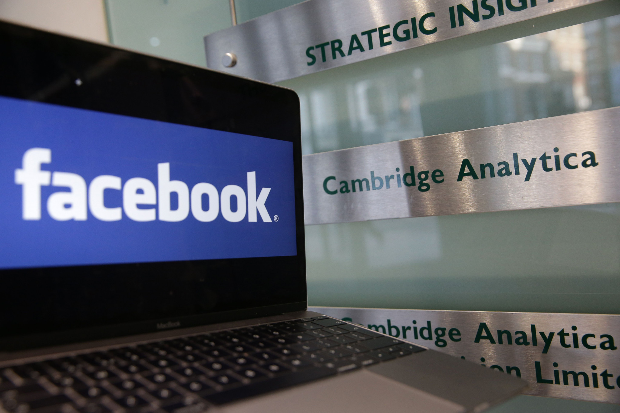 Facebook and Cambridge Analytica have been at the centre of the crisis ©Getty Images
