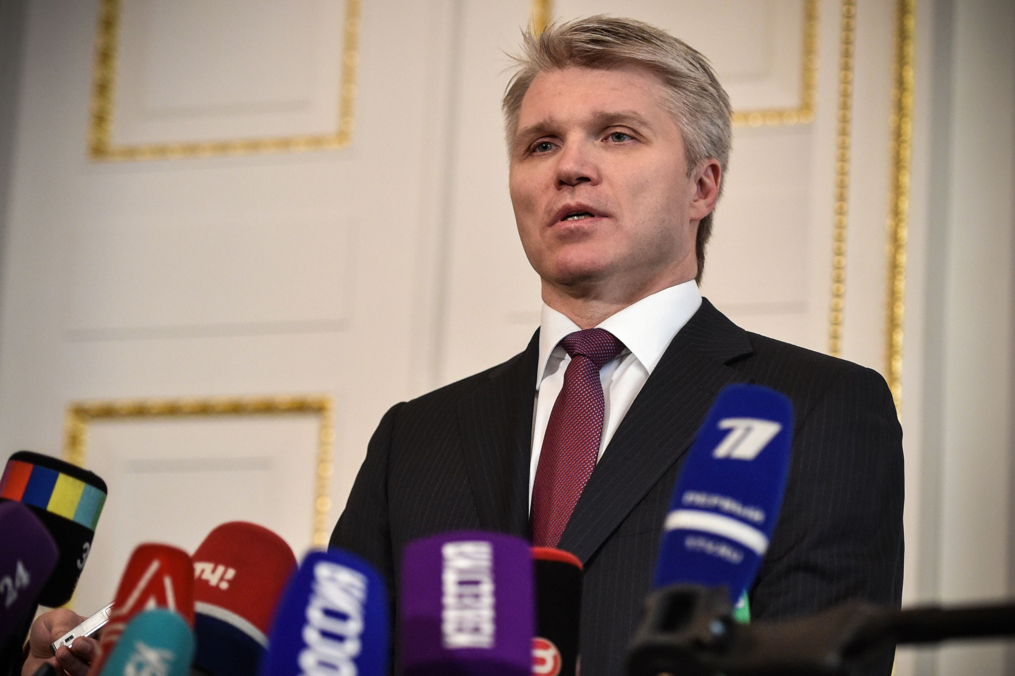 Russian Sports Minister holds meetings with WADA and IAAF officials