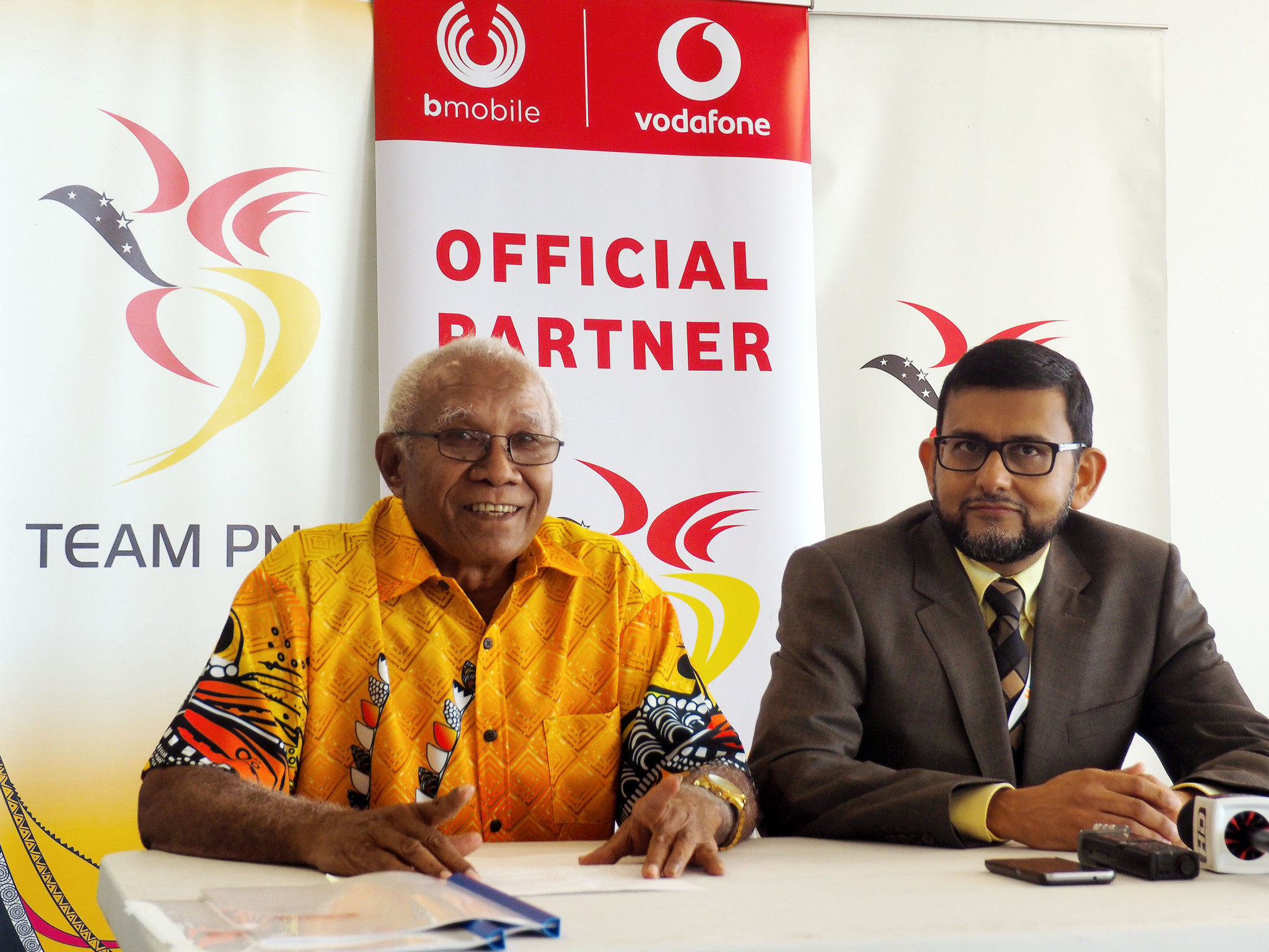 Papua New Guinea Olympic Committee sign deal with Bmobile-Vodafone