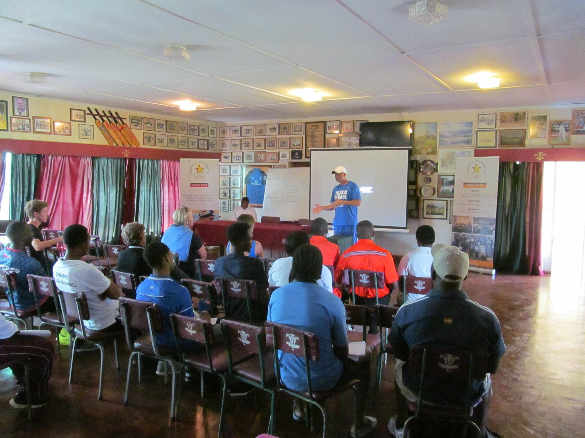 Zimbabwe Olympic Committee host sport science lecture led by former athlete