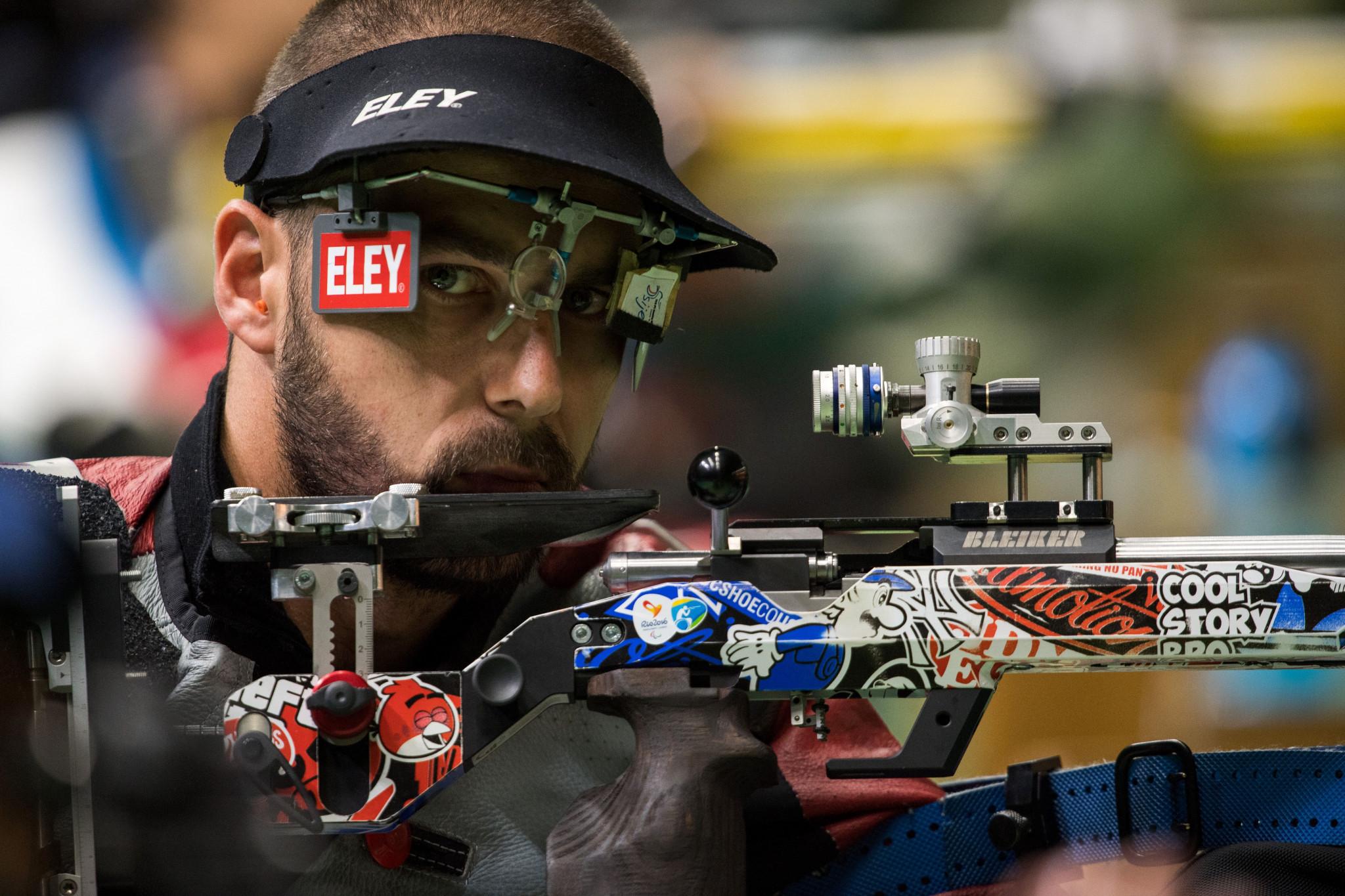 Skelhon and Norberg on target as Para Shooting World Cup begins
