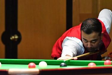 Wales' Kishan Hirani reached tomorrow's crucial quarter-finals at the WSF World Championships in Malta ©WSF