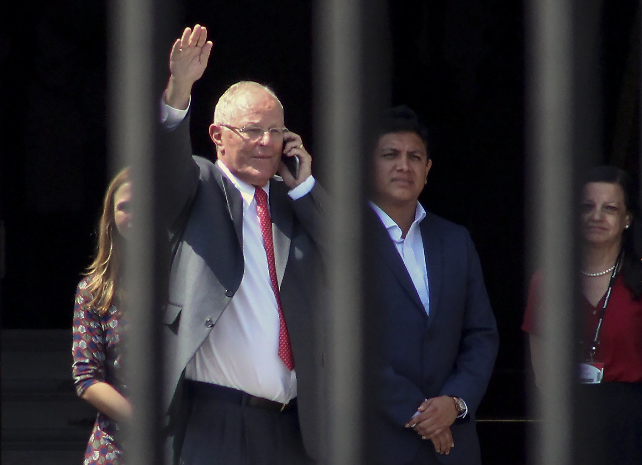 Peru's President, left the post due to allegations of corruption