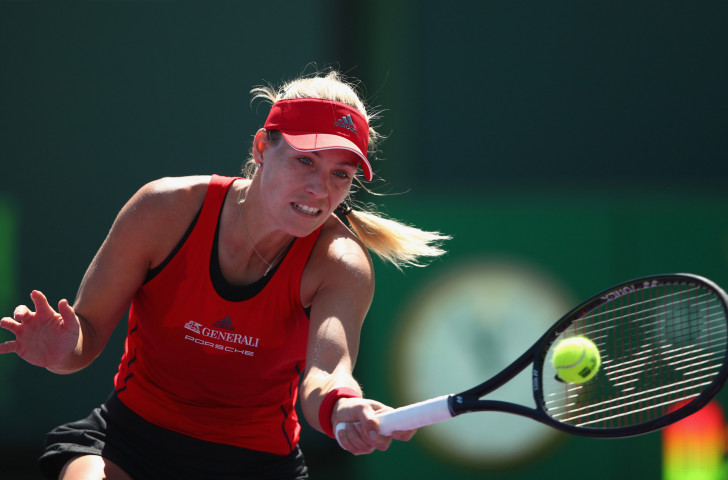 Ranked Halep wins three-setter in Miami