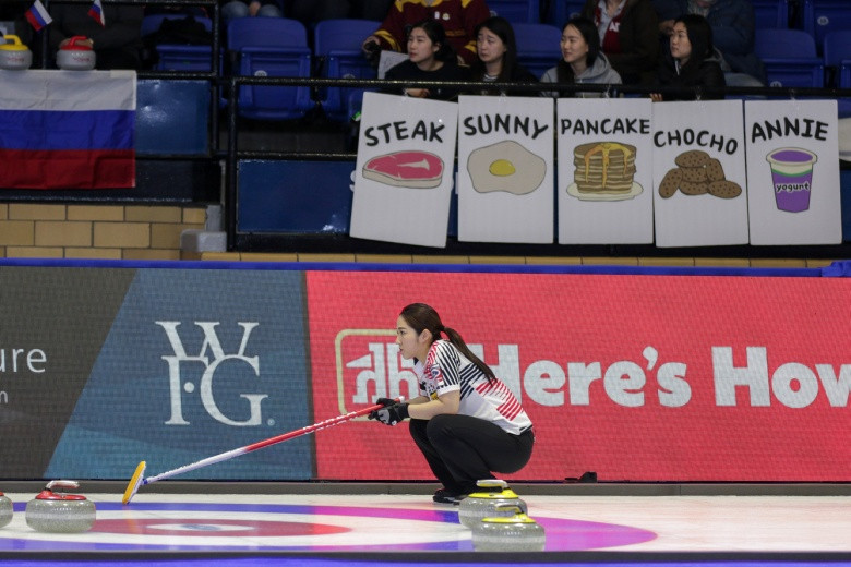 Canada's Jones to face American Sinclair in semifinal at women's world playdowns