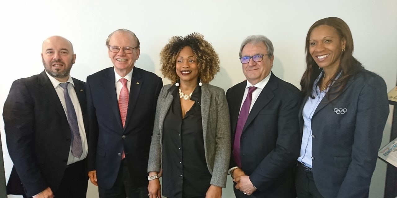 WBSC President meets with French Sports Minister as Paris 2024 campaign continues