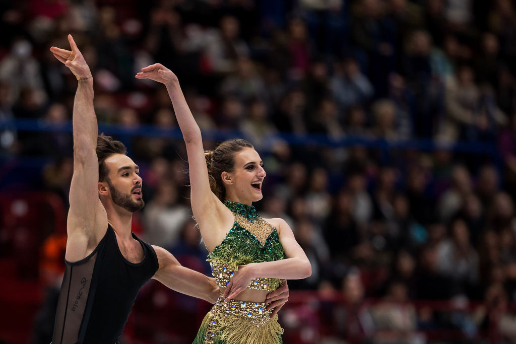 Kaetlyn Osmond captures the world figure skating gold medal