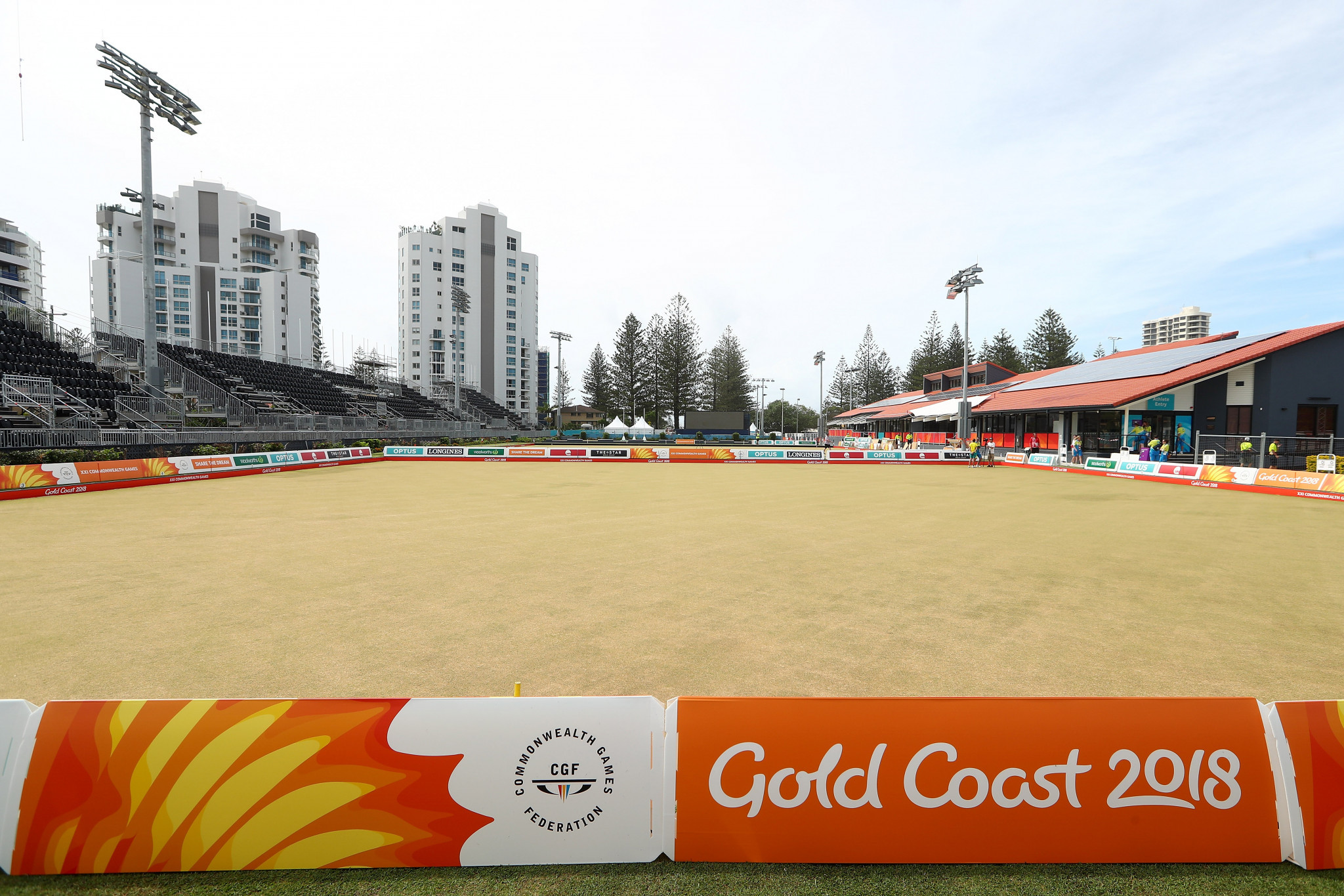 Gold Coast 2018 promise entertainment for spectators watching lawn bowls events at Commonwealth Games