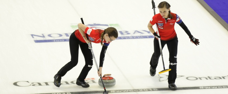 Three teams book play-off places as round-robin concludes at World Women's Curling Championships