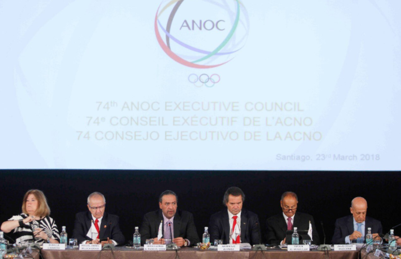 Governance and World Beach Games lead agenda at ANOC Executive Council meeting