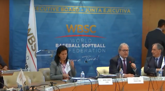 The WBSC Executive Committee meeting is taking place at the French National Olympic and Sports Committee headquarters in Paris ©YouTube