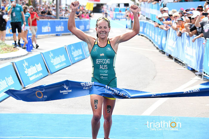 Final warm-up for Gold Coast triathletes in New Plymouth ITU World Cup
