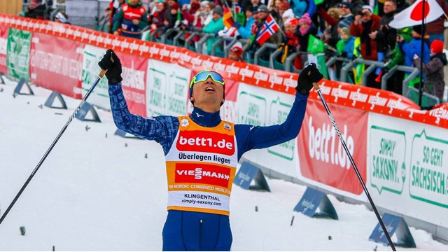 Watabe makes up ground for 16th FIS Nordic Combined World Cup win in Schonach