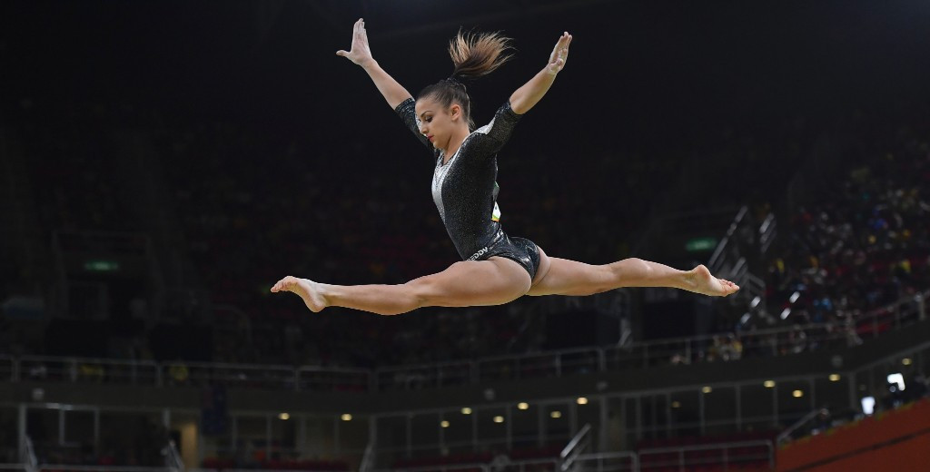 Three-way tie for floor honours at FIG World Cup in Doha