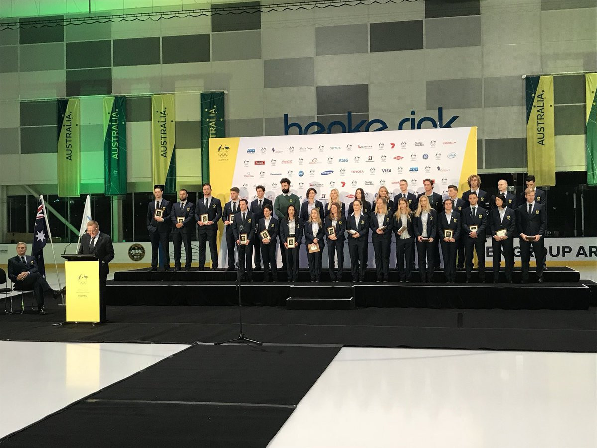"Australian Olympians attend ""Welcome Home"" ceremony to celebrate Pyeongchang 2018 success"