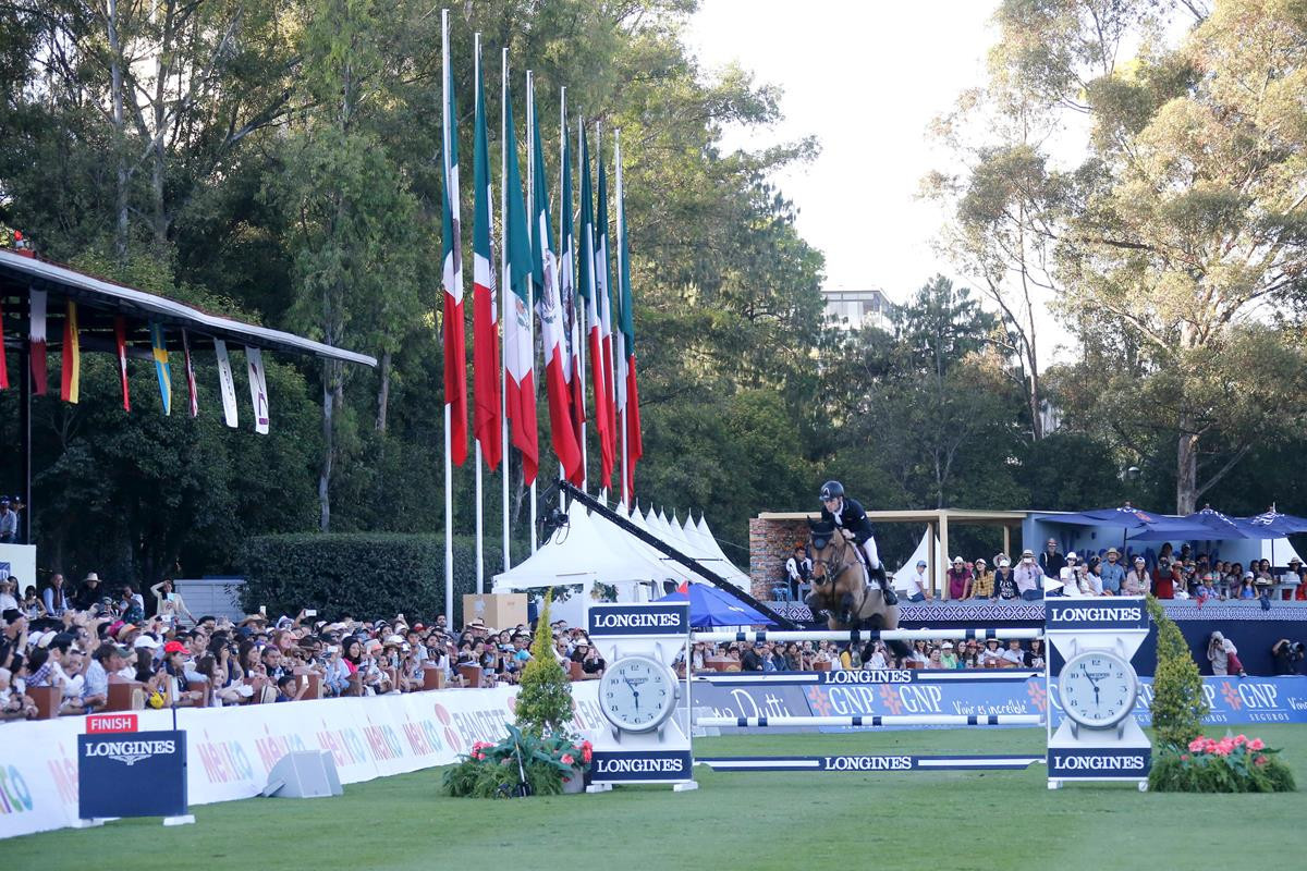 Scott Brash also qualified for the new season-ending event in Prague by virtue of his triumph in Mexico City ©Longines