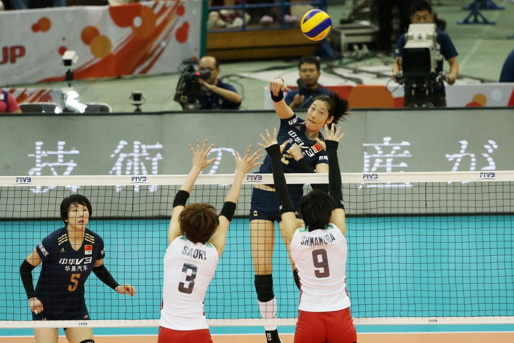China seal fourth FIVB Women's World Cup title to book Rio 2016 spot