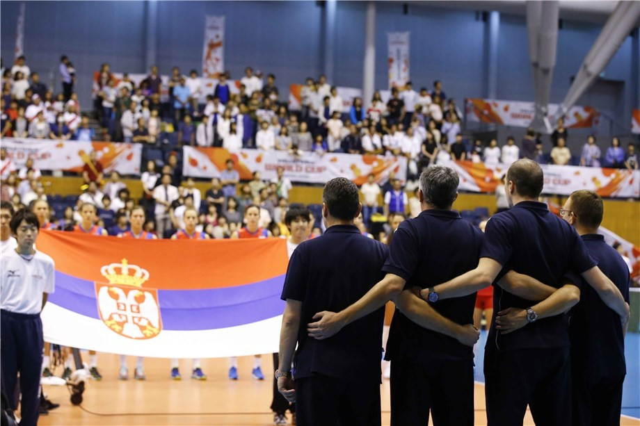 Serbia secured the second Rio 2016 spor after a nervy end to their match against Argentina