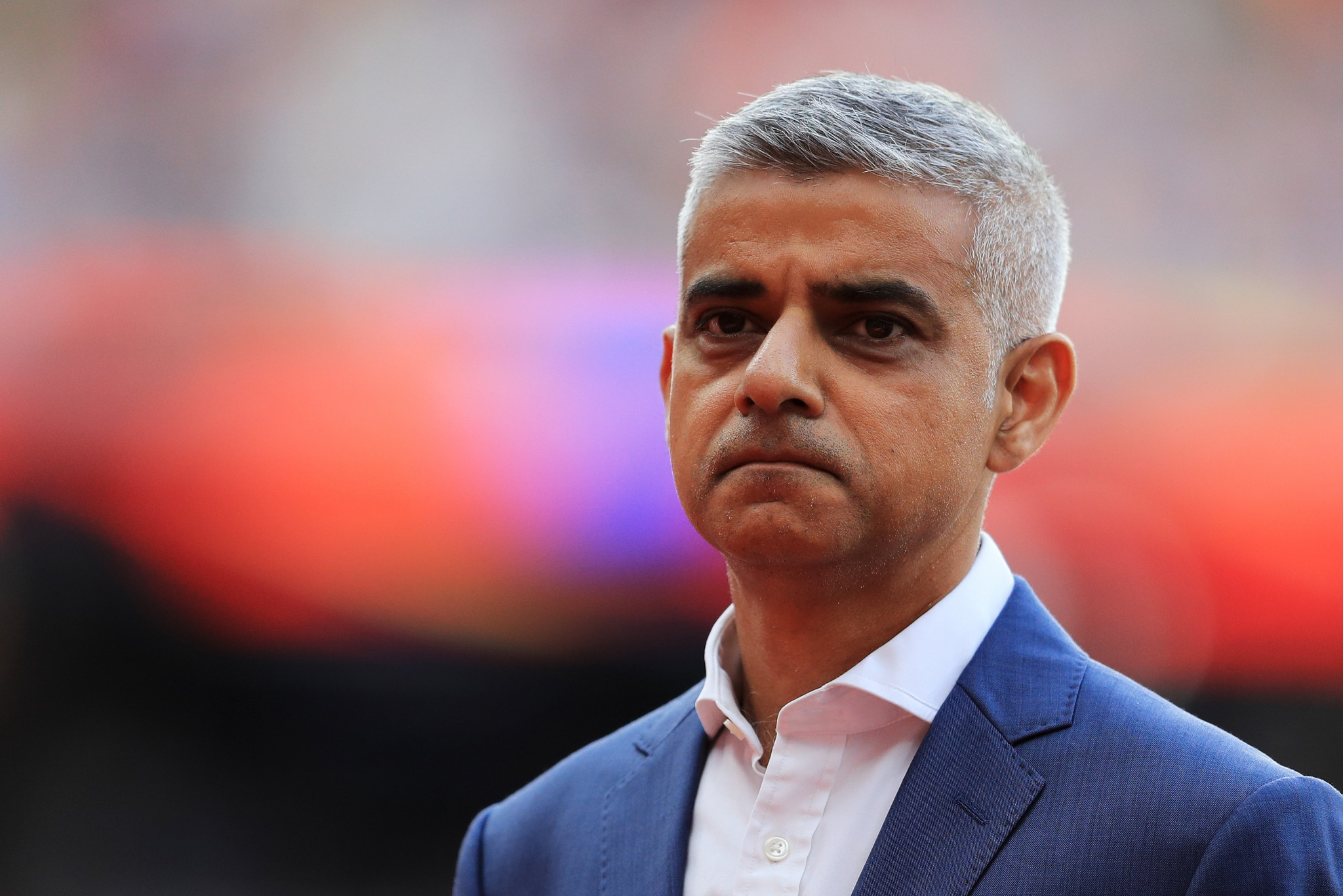 London Mayor Sadiq Khan is due to meet with West Ham United officials ©Getty Images