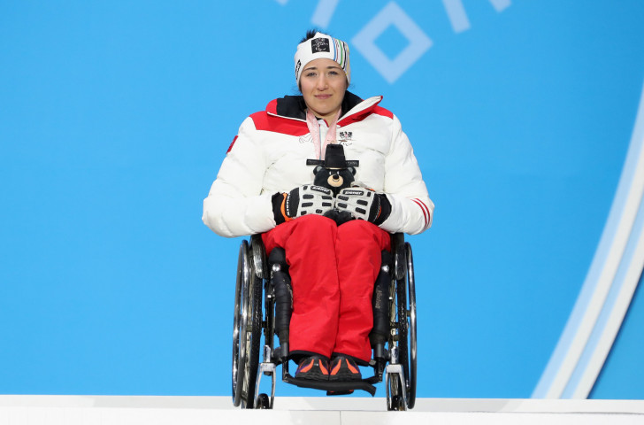 Austria's Paralympic Alpine skiing medallist Claudia Loesch will be among numerous Pyeongchang 2018 medallists competing in the Europa Cup Finals in Obersaxen ©Getty Images
