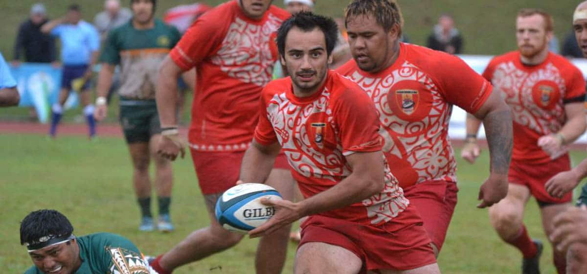 Andoni Jimenez was one of two ineligible players Tahiti fielded in the match against Cook Islands ©World Rugby