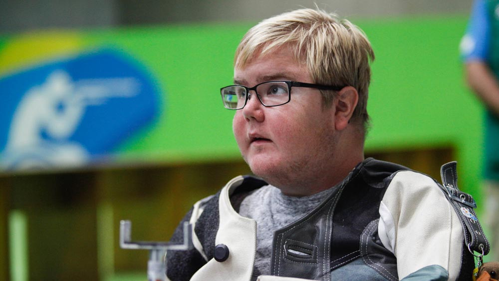Jönsson clinches air rifle standing gold at 2018 World Shooting Para Sport World Cup