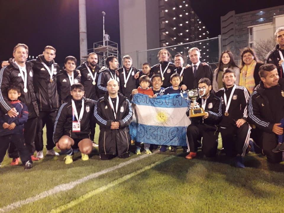 Argentina win inaugural IBSA Blind Football World Grand Prix
