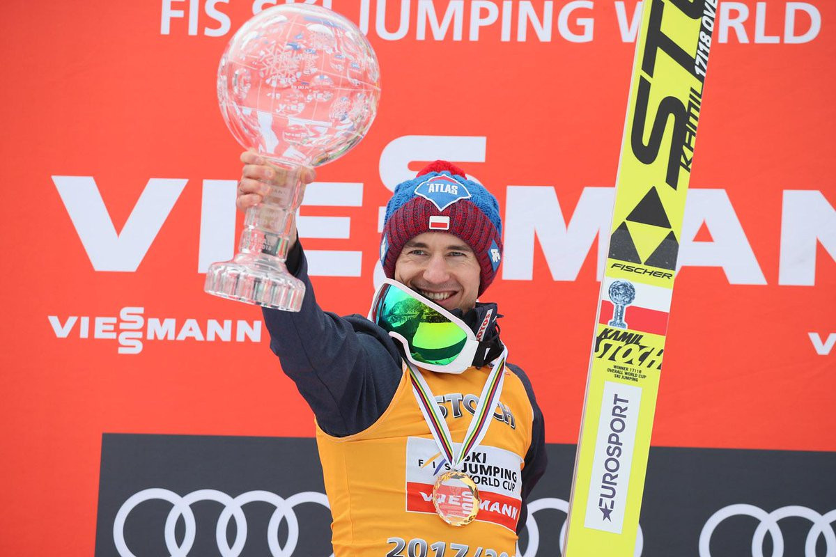 Stoch soars to complete FIS Ski Jumping World Cup domination in style