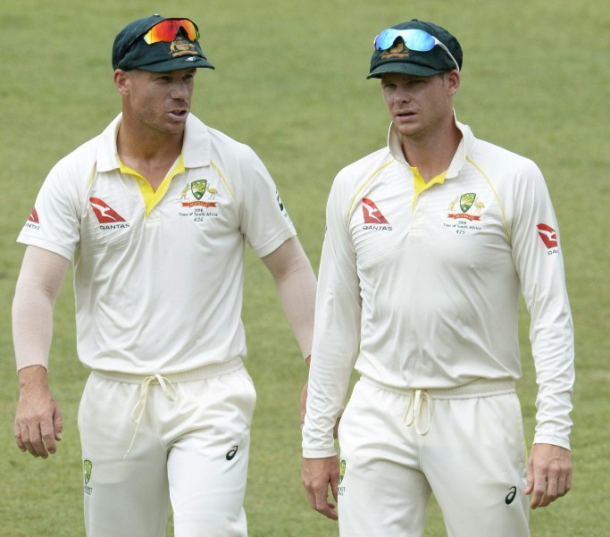 Steve Smith, left, and David Warner have stood down for the rest of the third Test ©Getty Images