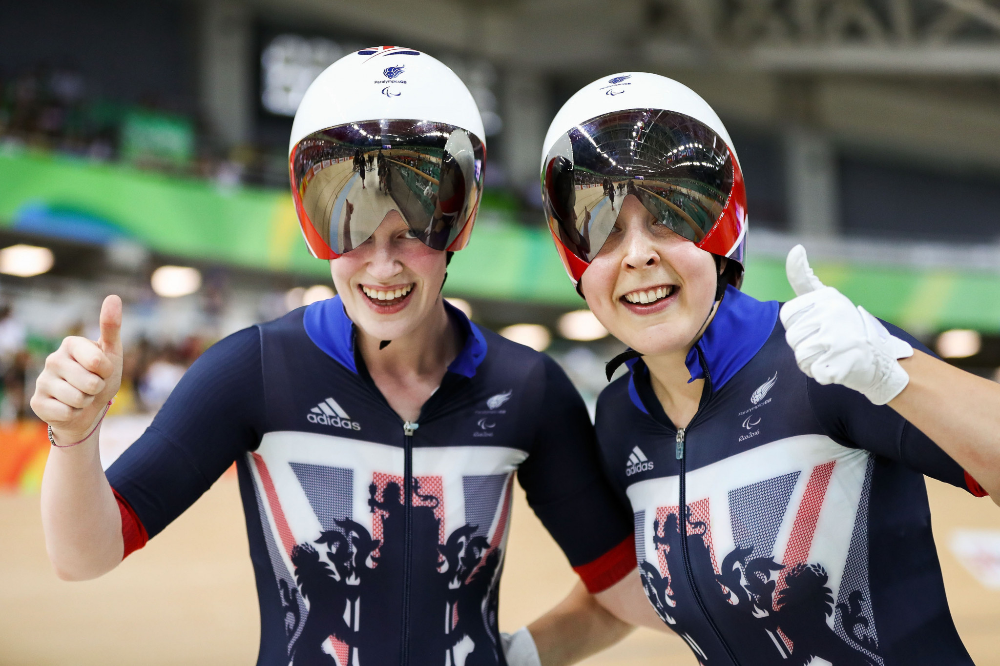 British pair break second world record on final day of Para Cycling World Championships