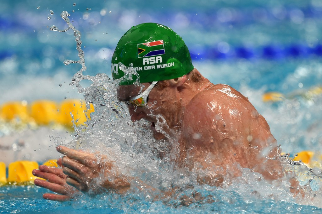 Van der Burgh leads South African swimming charge after Papal message of support for All-Africa Games