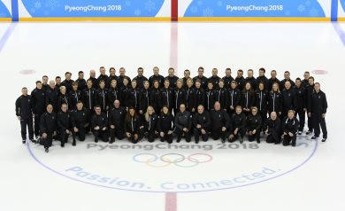 Twelve of the 16 nominated referees and eight of the linesmen also officiated at the Pyeongchang 2018 Winter Olympic Games ©IIHF