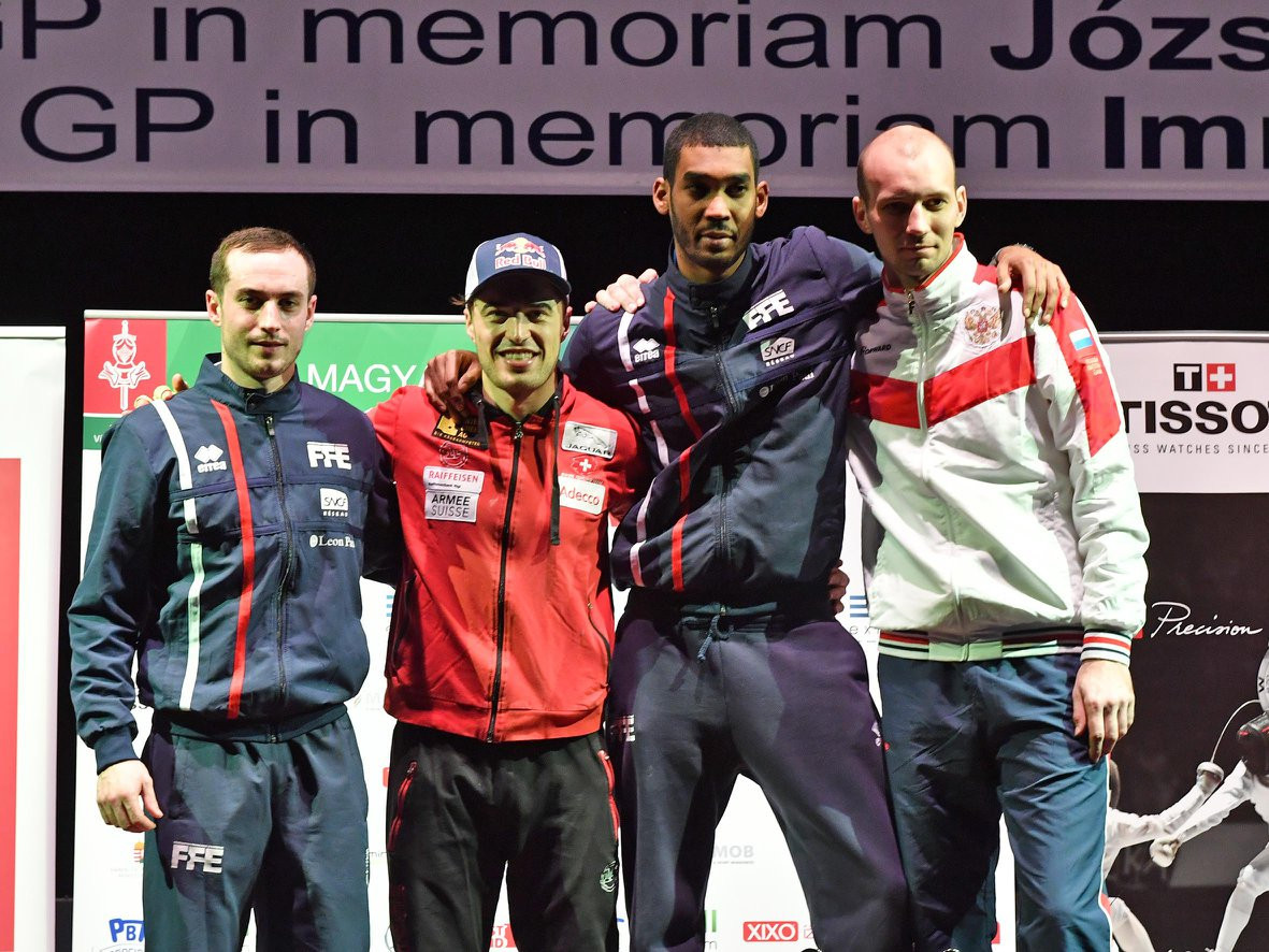 Heinzer and Navarria enjoy Fencing Grand Prix success in Budapest