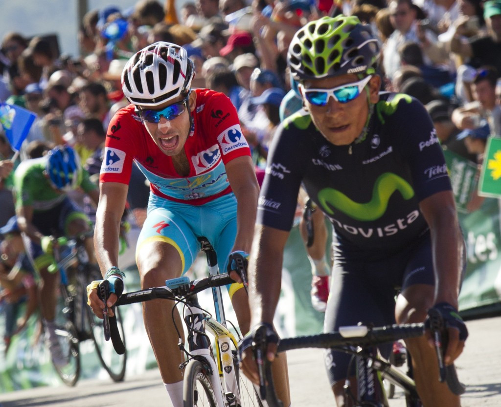 Race leader Fabio Aru finished fifteen seconds behind the stage winner, alongside Colombia's Nairo Quintana