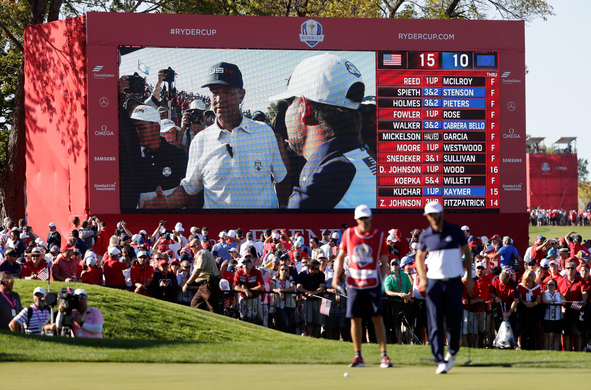 Hazeltine Golf Course also played host to the 2016 Ryder Cup ©Getty Images