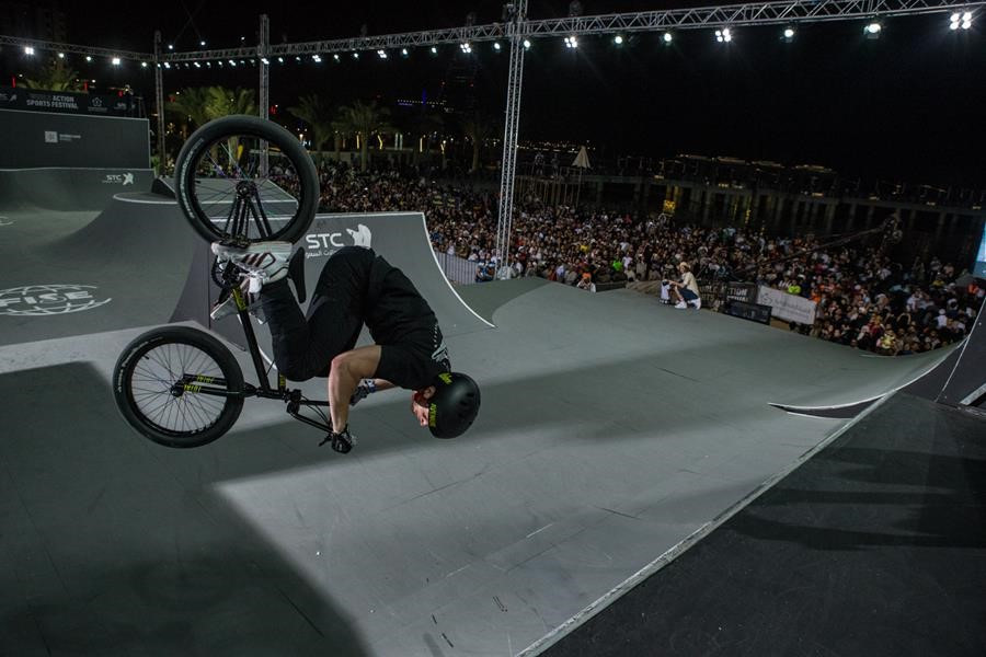 Freestyle Park provided a highlight at the event in Jeddah ©FISE