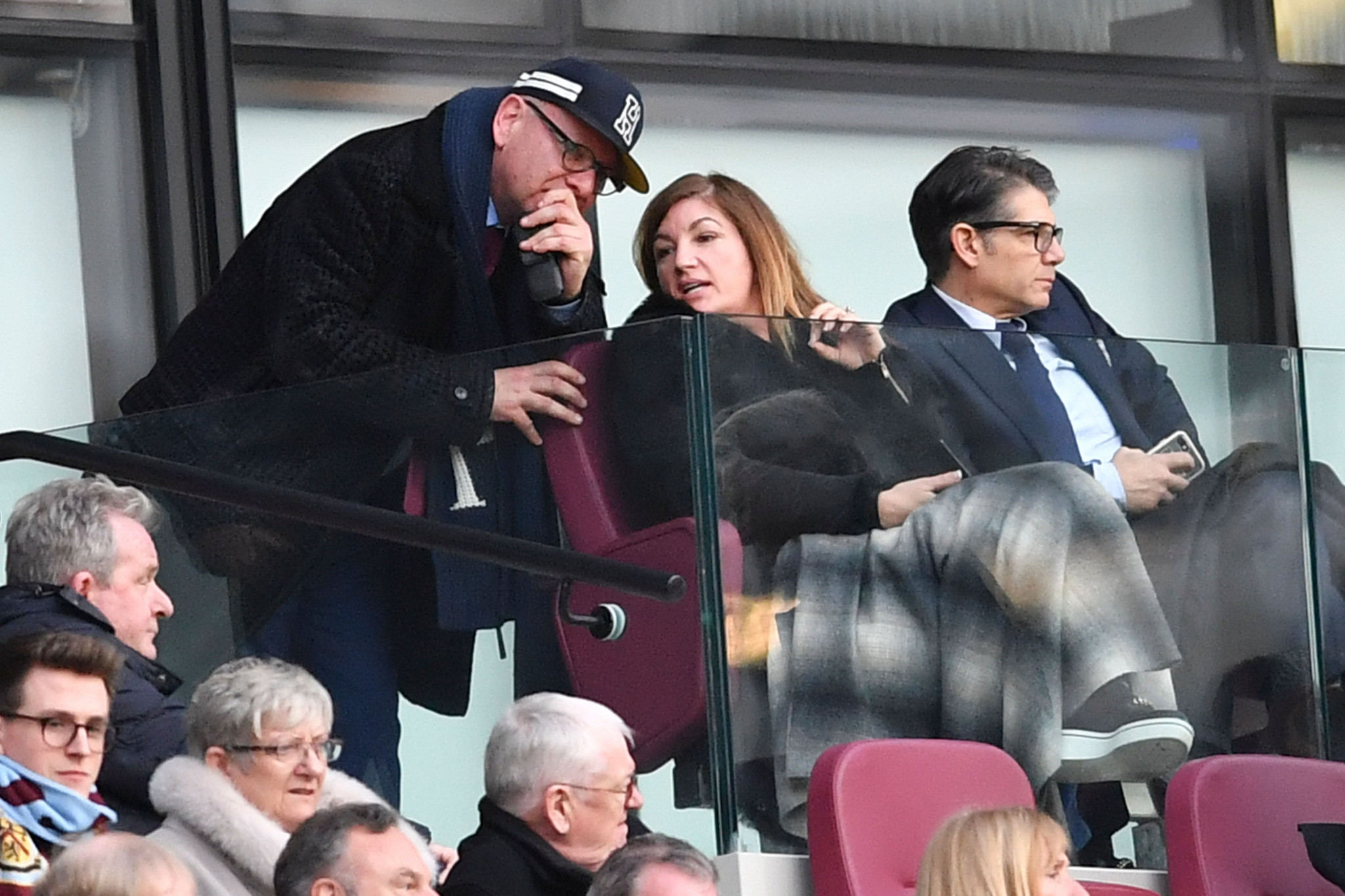 West Ham United vice-chairman Karren Brady claims she is optimistic the Premier League club will have a better relationship with London Mayor Sadiq Khan after the two held talks ©Getty Images
