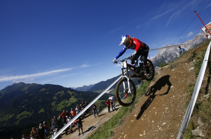 Atherton crowned women's downhill queen as Bruni takes men's honours at UCI Mountain Bike and Trials World Championships