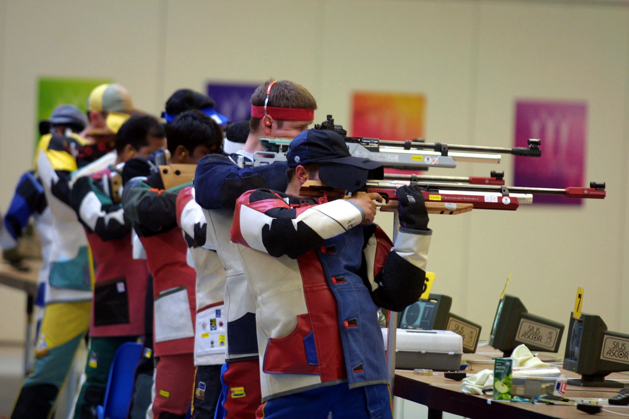 The nearest shooting range to Birmingham is in Bisley, 130 miles away and which staged the sport when England last hosted the Commonwealth Games, in Manchester in 2002 ©Getty Images