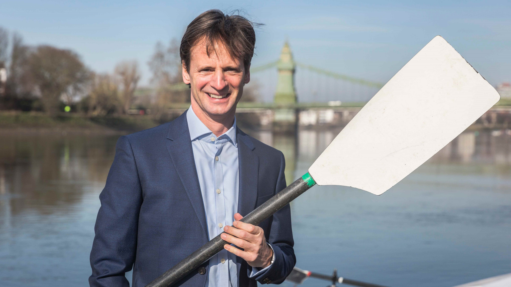 British Rowing has announced the appointment of Mark Davies as its new chair ©British Rowing/Nick Middleton