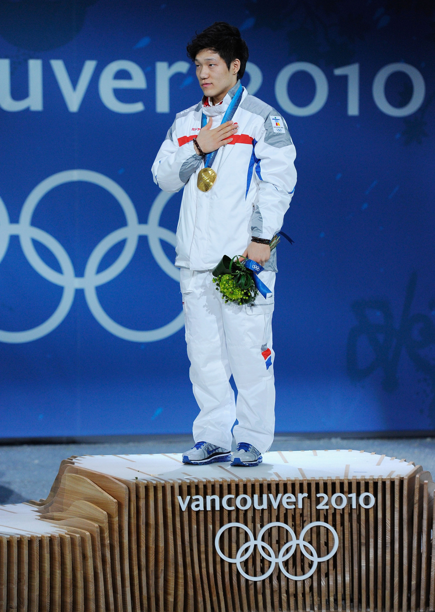 Moe Tae-bum won a shock gold medal at Vancouver 2010 ©Getty Images