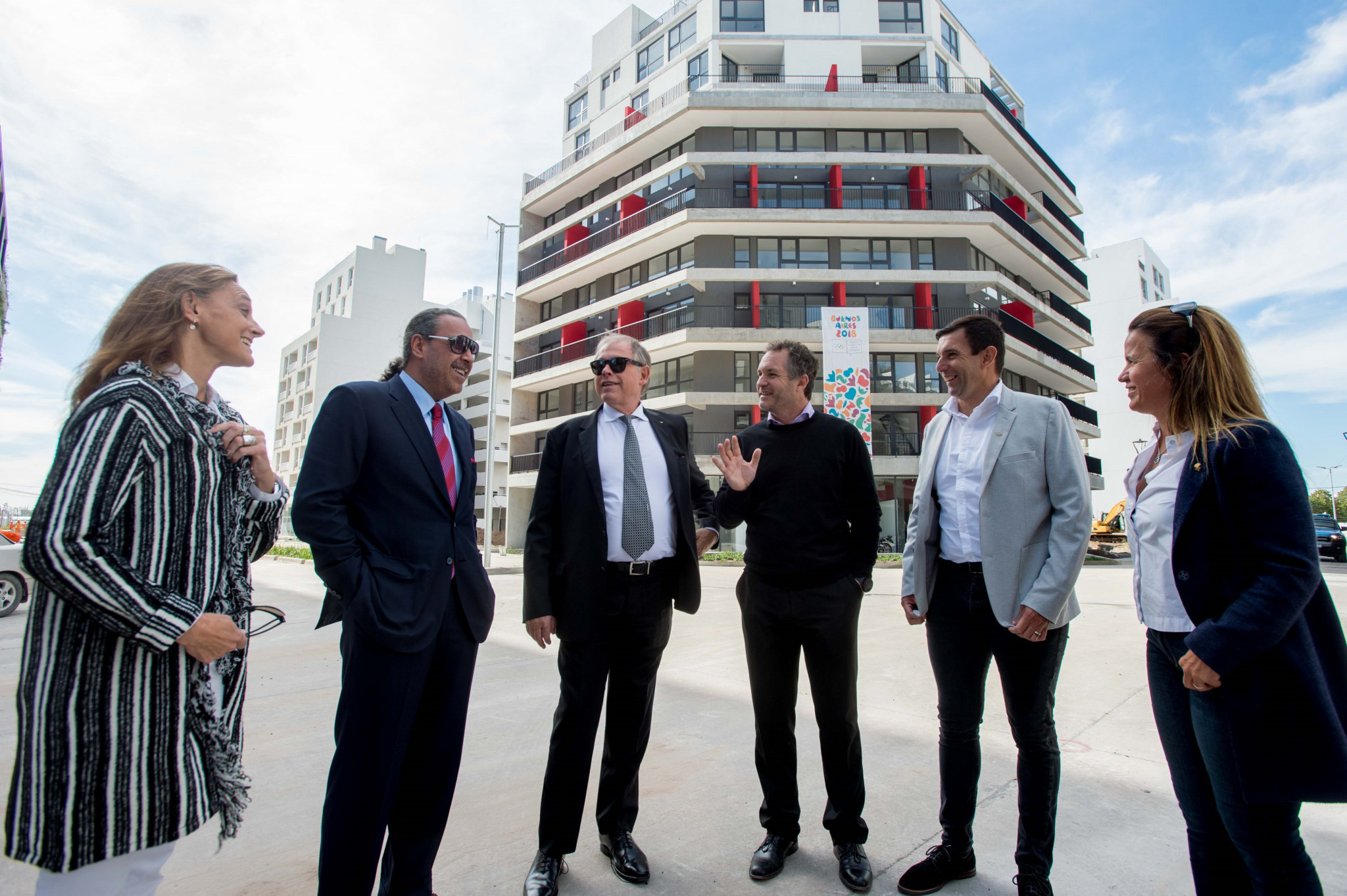ANOC President praises Youth Olympic Village on visit to Buenos Aires