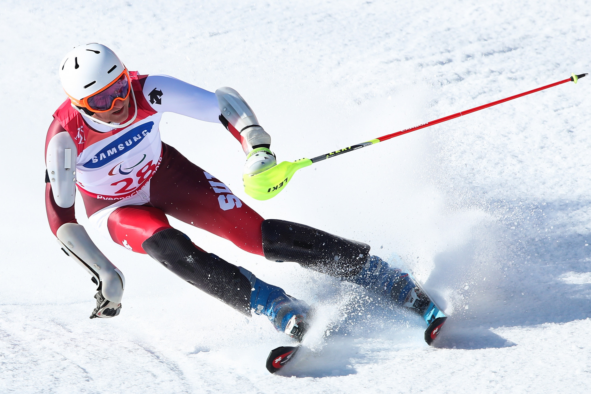 Hosts win two golds in super combined competition at World Para Alpine Skiing Europa Cup Finals