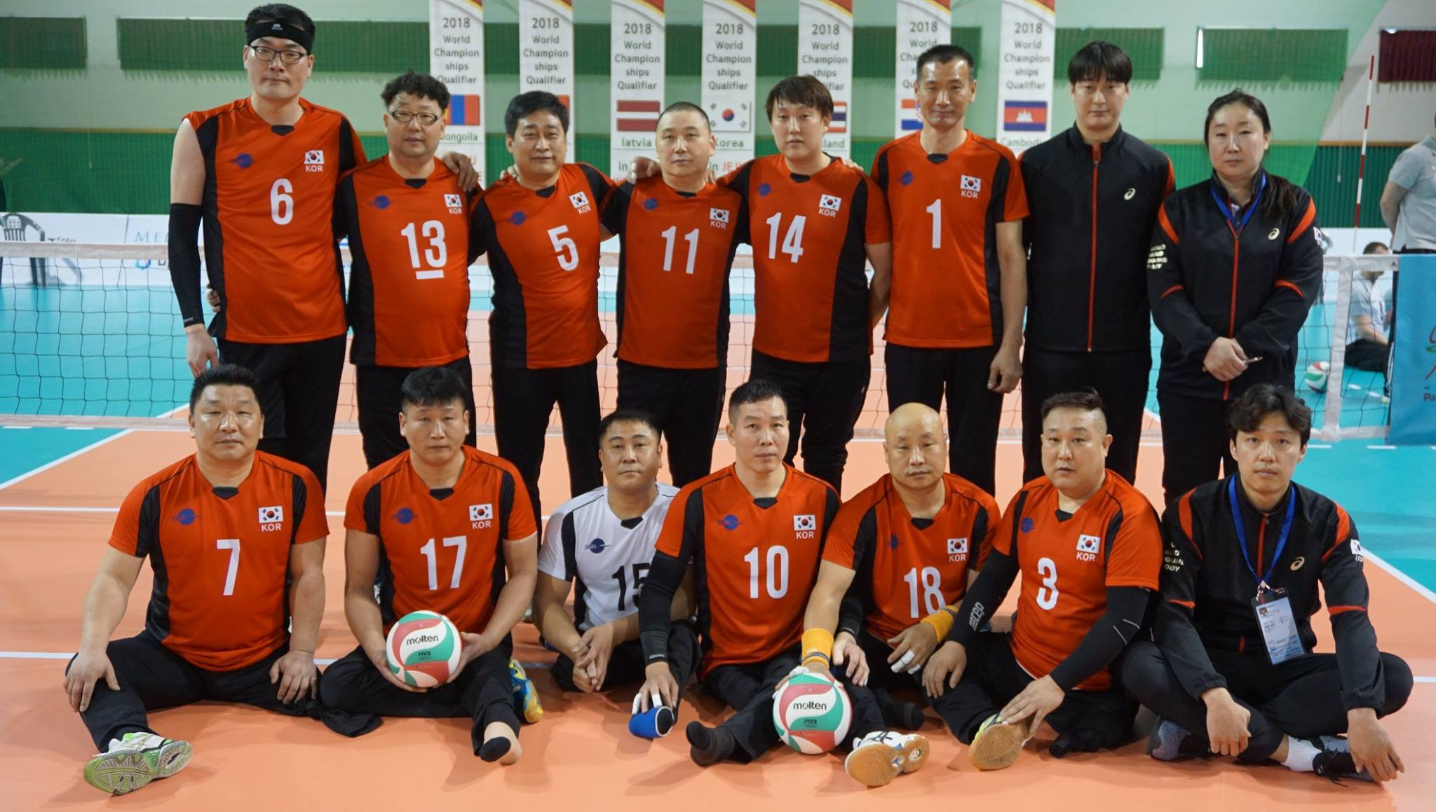 Hosts South Korea make strong start to final qualifier for 2018 Sitting Volleyball World Championships
