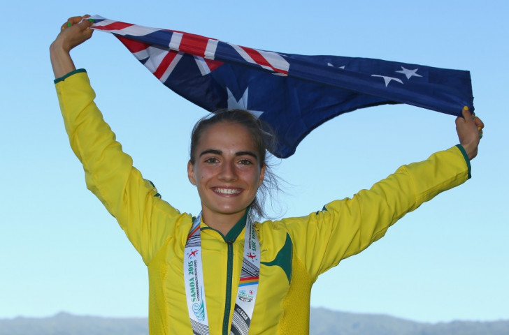 Australian Harding-Delooze wins girl's 1500 metres thriller on action-packed opening day of athletics at Samoa 2015